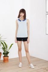 Camiseta Holly azul celeste