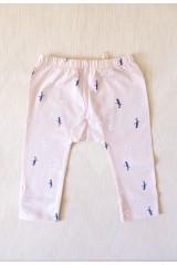 Pantalón de bebe rosa estampado