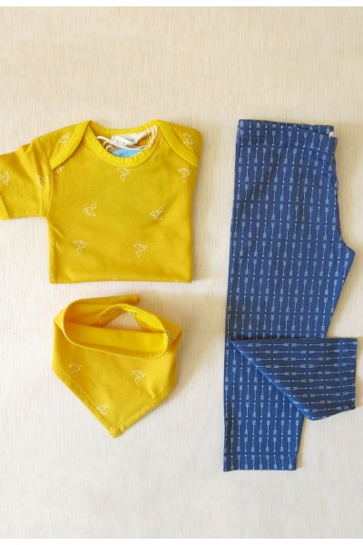 Combi Origami amarillo