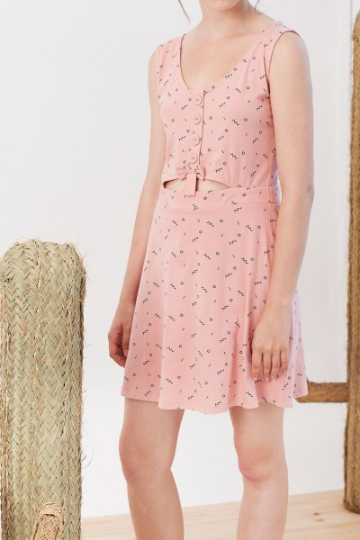 Idoia dress in pink
