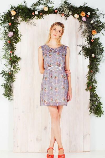 Vestido Faustine estampado floral