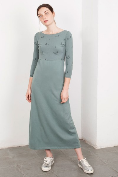 Lara Maxi dress in green