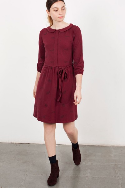 Garnet Luana Peter Pan Collar dress