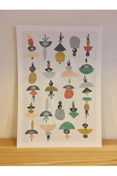 Ilistración medusas