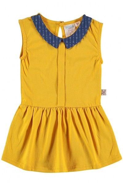 Vestido amarillo niña