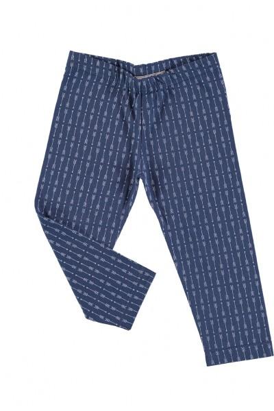 Legging azul cobalto flechas