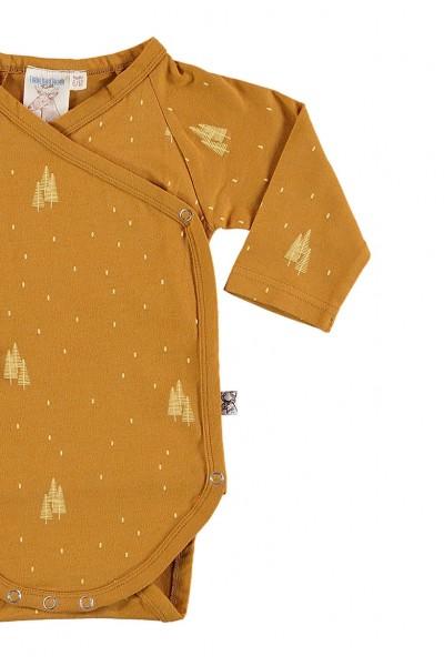 Body kimono mostaza