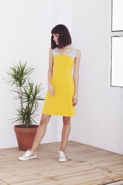 Yellow Hela dress