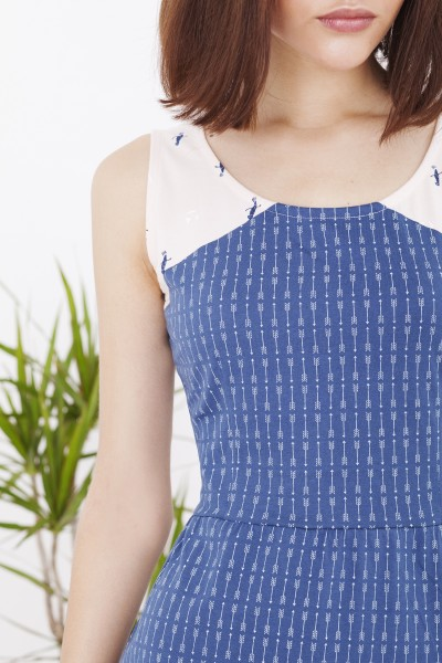 Blue Hela dress