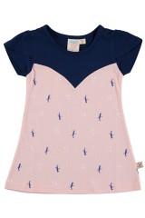 Light pink flared dress