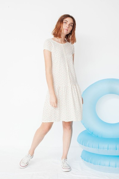 Miranda charlestón dress with geometric print