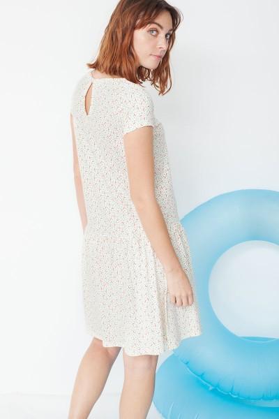 Vestido Miranda tipo charlestón en estampado geométrico