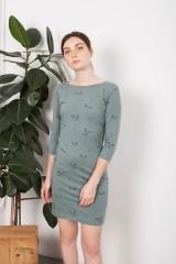 Tight green Leia dress
