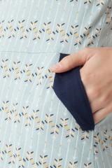 Maya pockets dress with arrow print