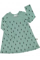 Vestido Evasé color verde
