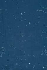 Babero reversible con estampado constelaciones