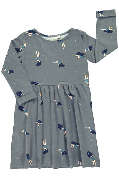 """Dancing in cosmos "" relaxed fit dress"