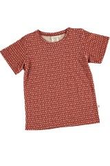 Camiseta unisex color teja