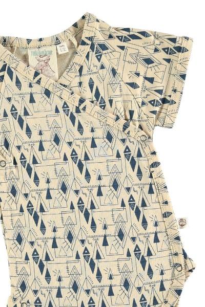 Body kimono geométrico