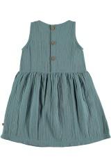 Vestido tirantes reversible azul