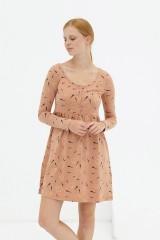 Vestido corte imperio rosa pastel Dánae