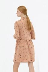 Vestido camisero rosa pastel Dorothea