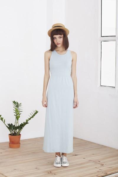 Maxi dress Hela light blue