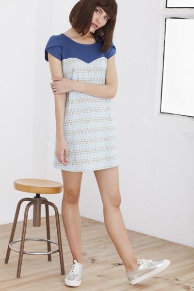 Vestido Heina azul celeste