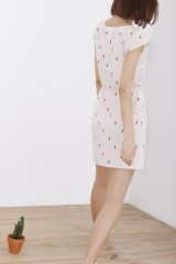 Pink short sleeve Hila dress