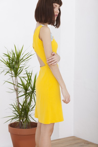 Yellow Hela dress