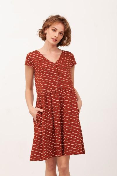 Vestido Escote lazo Belinda Teja