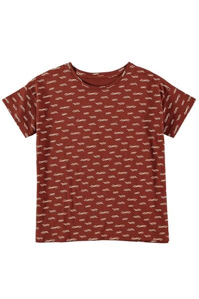 Camiseta manga corta unisex Teja