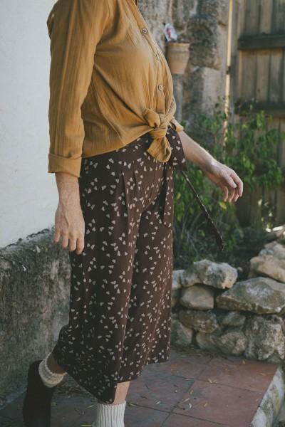 Sibila pants in brown