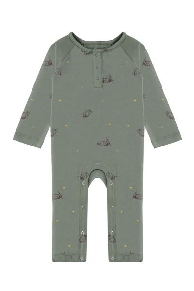 Mono bebé Sam verde manga...