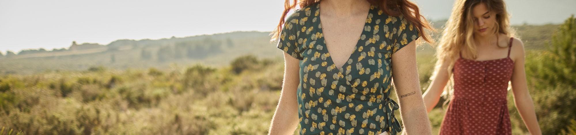 Nuevas colecciones de ropa ecológicas para mujer de algodón orgánico