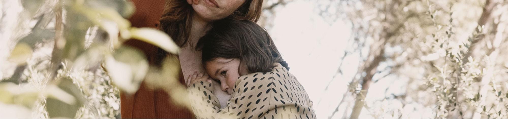 Prendas para mamás lactates. Perfectas para dar el pecho a tu bebé