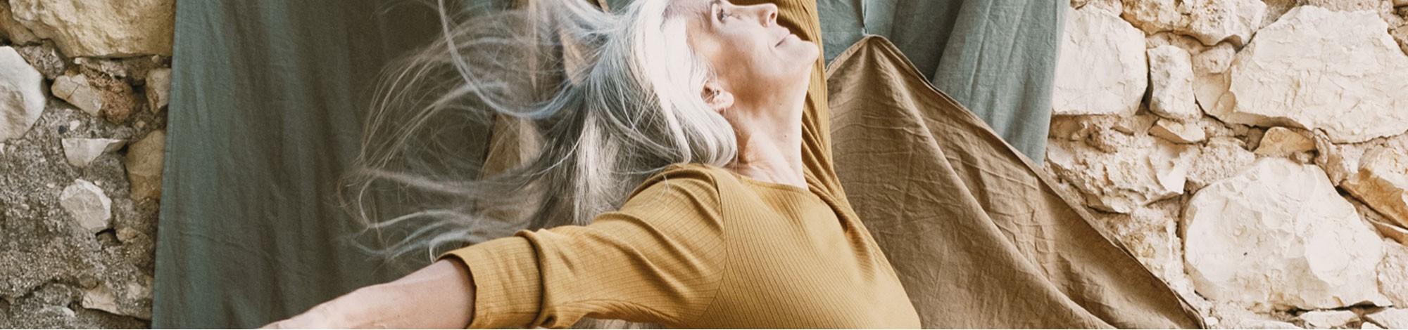 Vestidos de muselina de algodón orgánico
